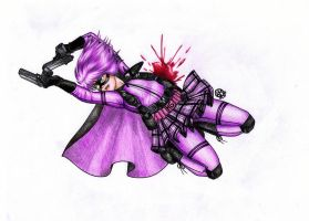 Hit Girl by SilkSpectreII