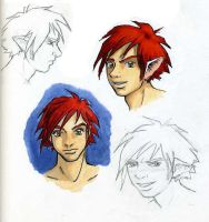 Catboy Head Portraits by StephanieReeves