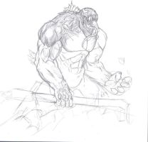 venom sketch by zSwan