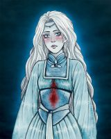 Helena Ravenclaw ~The Grey Lady~ by Clef-en-Or