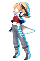 MMD Newcomer - Daina by Pokeluver223