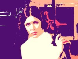 Carrie Fisher by emy-hobbies