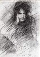 An old drawing of Robert Smith by fbruno