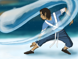 Water Bender by ReneeYV