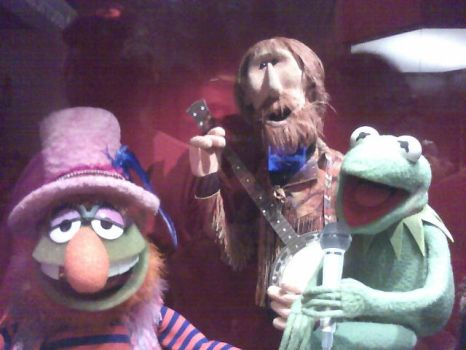 Kermit, Dr. Teeth and Jim by nichan