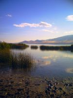 Utah Lake by flamingpig