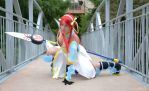Erza Scarlet Lightning Empress Armor Cosplay by kariuchiha