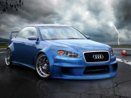 Audi A4 - The Pleasure of RS-R by BLaCKDesigN