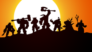 Warlord of Draenor Wallpaper [1920x1080] by ropa-to