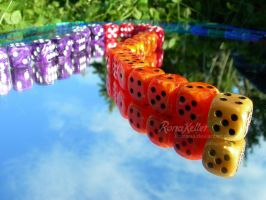 dice line by Rona-Keller
