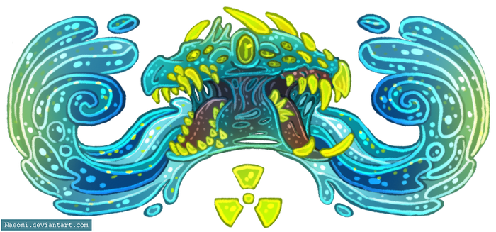 Irradiated Waters Banner by Naeomi