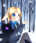 Winter Blue by nekophy