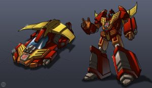 War Within Hot Rod by REX-203 by Robot-Japan