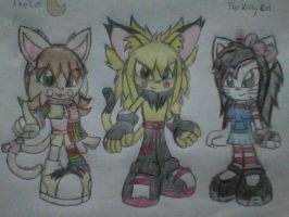 Exodians-Nya,Prominence and Kawaii :new: by SaberCookie2410