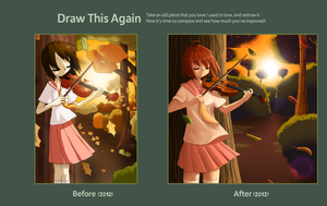 Draw This Again-Autumn Melody by AnnaZoey