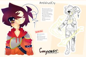 Crycest: Everlasting - AntiVirus!Cry by Nadi-Chan