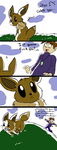 gary gets his eevee by FizTheAncient