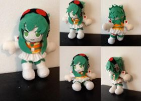 Gumi Plush by twiglightdragon