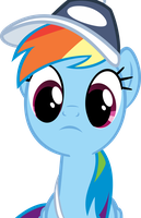 Rainbowdash Thinking by RyantheBrony
