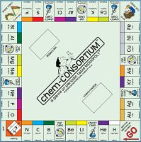 chem-CONSORTIUM Game Board by sixmegapixels