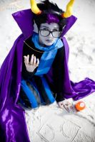 SukoshiCon Destin - Homestuck: Eridan by elysiagriffin
