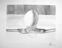 Egg Forks by LOLOexists