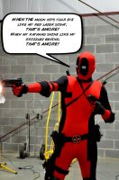 Deadpool's Amore by SnuffBomb