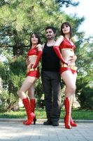 ironettes with Tony Stark by xVenya