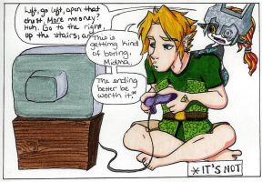 Link plays Twilight Princess by Kriiz