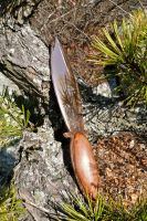 Copper Athame by ixbalam