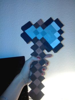 Hache minecraft by astre90
