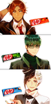 Mr. KitKat Series(2) by Cioccolatodorima