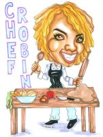Chef Robin Commission 071011 by raccoon-eyes