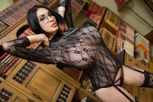 Sexy Librarian by Ariane-Saint-Amour