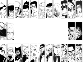 Naruto Tile Wallpaper by SolKyoshiro