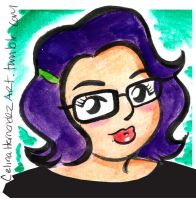 Me Portrait by ChibiCelina