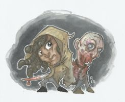 MINI MICHONNE AND WALKER PET by leagueof1