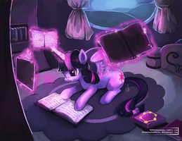 MLP: Twilight Sparkle by The-Keyblade-Pony