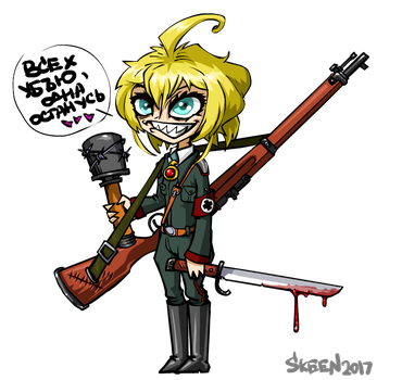 angry Tanya by SkeeNLangly
