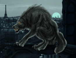 The beast of Notre Dame by DinoMatt24