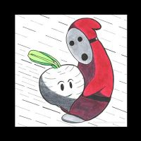 Shyguy Meets Vegetable by AchisutoShinzo