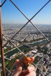 Amarie looking from the top of Eiffel tower by Dreams-of-Arda