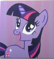 Twilight Sparkle Painting by pulchra-mortuus