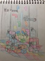 Tetris Collision by ezvegas