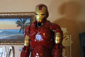 Iron Man Cosplay in the making by aracknoid3