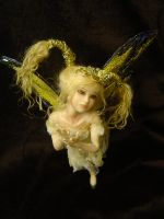 Tilt 2 OOak fAIRY Art Doll by LindaJaneThomas