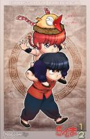 Commission Ranma SD by makushiro