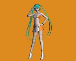Racing Miku 2010 by chocosunday