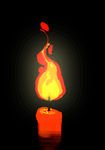 Candle animation by Donlvir