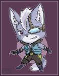 Wolf O'Donnell Chibi by karnalux